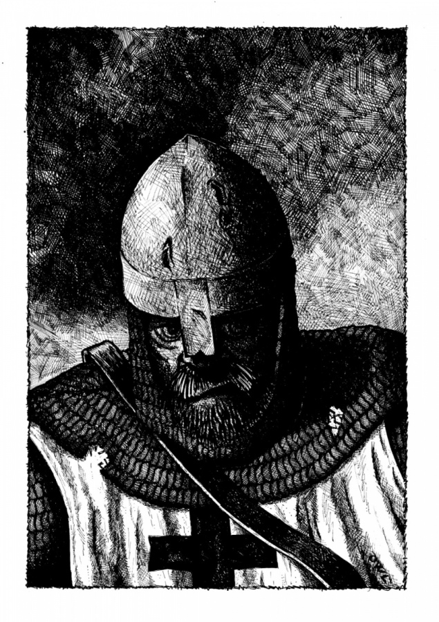 Igor Belansky interpreta un tema storico. Le crociate, risvolti noti e meno noti