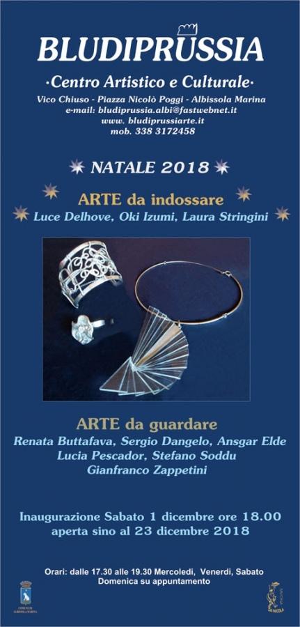 Arte da Indossare | Arte da guardare. Inaugurazione Sabato 1 dicembre ore 18.00