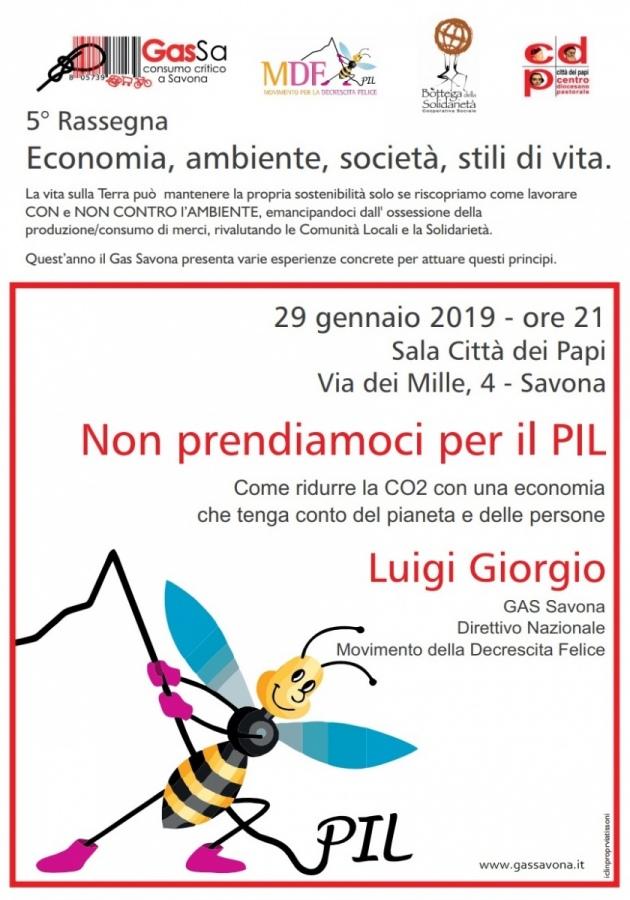I contenuti presentati da Luigi Giorgio nel convegno indetto il 29/01 da G.A.S.e M.D.F