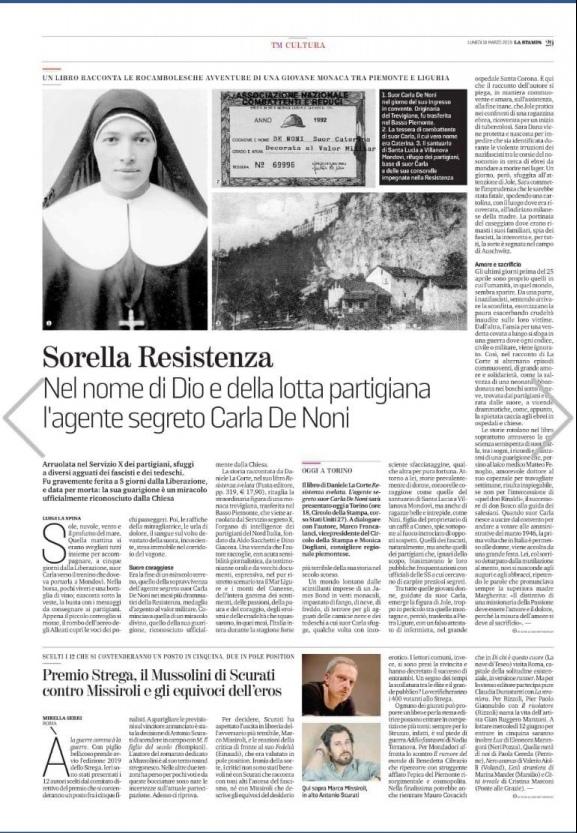 A Savona la presentazione del libro. «Resistenza Svelat» di Daniele La Corte