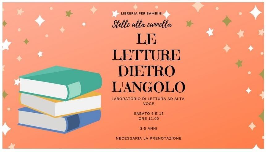 Laboratori di lettura per bambini a Varazze. 13 e 14 Aprile 2019 in piazza Fabrizio De André