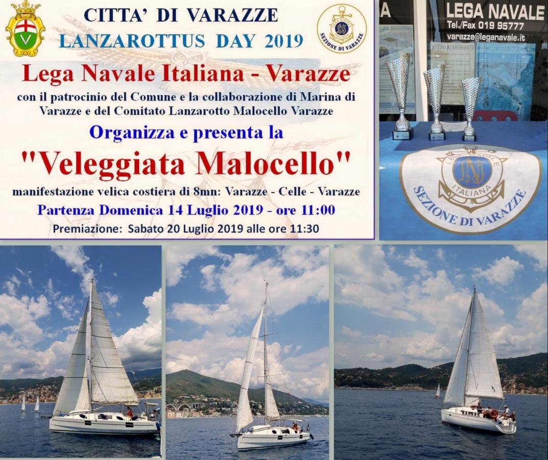 Estella del Mar si aggiudica la terza edizione della -Veleggiata Malocello-