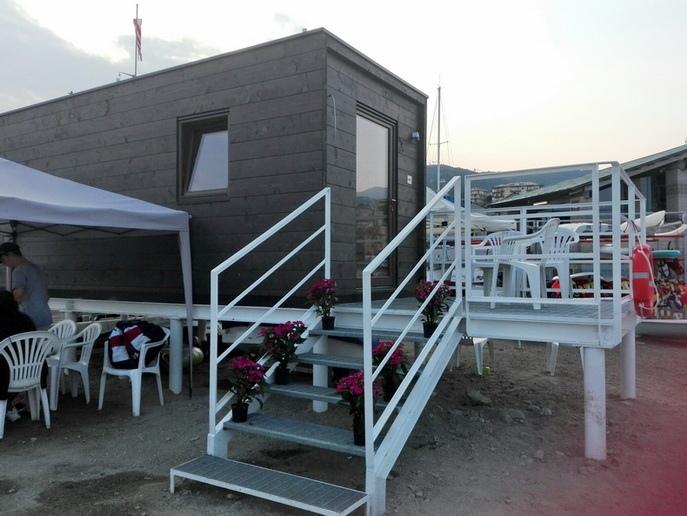 Inaugurata la - Scuola di mare Pino Carattino - nella base del Varazze Club Nautico