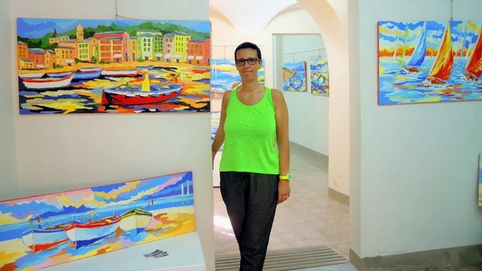 Mostra personale di Paola Defilippi a Varazze nella -Gallery Malocello-