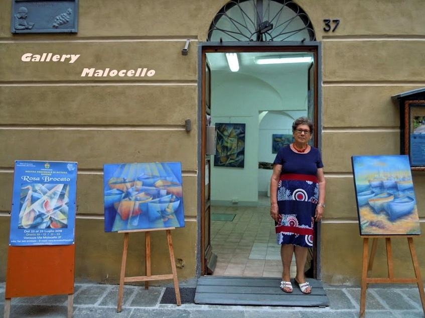 La - Gallery Malocello - di Varazze ospita la. Mostra personale di Rosa Brocato