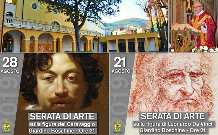 La pittura del Caravaggio a Varazze per il secondo appuntamento con don Doglio