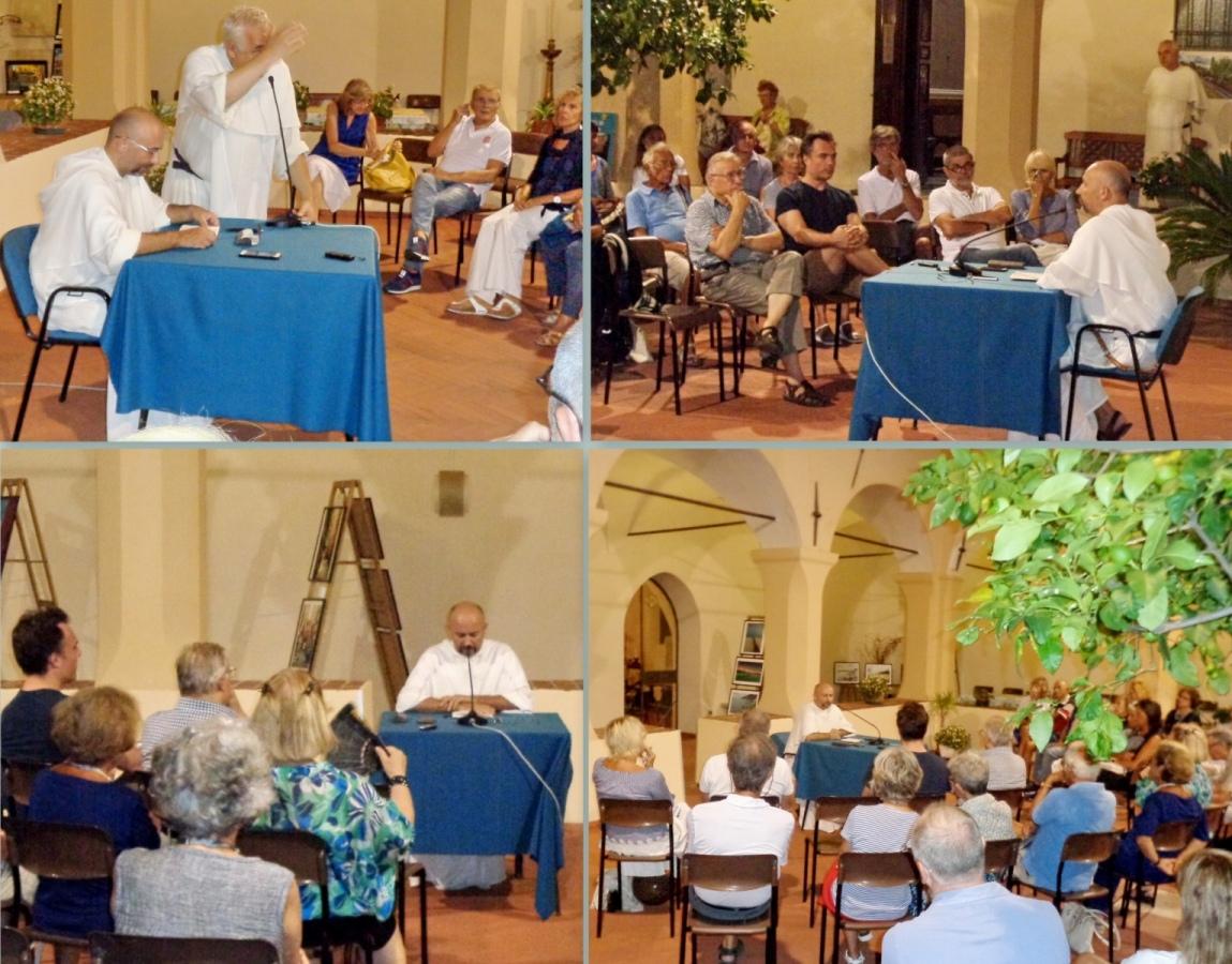 Presentato a Varazze nel Chiostro di San. Domenico -Streghe, Incantatori e Inquisitori-