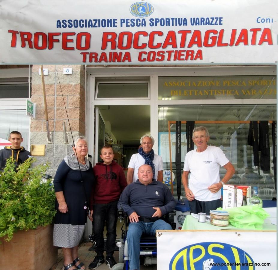 Tredicesima edizione del -Trofeo Roccatagliata- domenica a Varazze grande evento della pesca