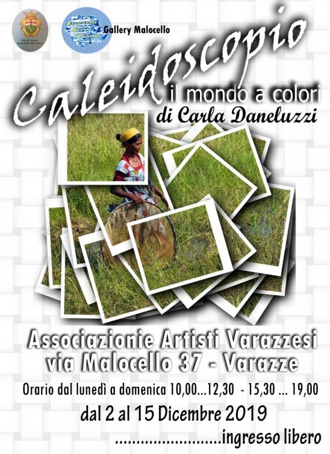 Caleidoscopio - Il mondo a colori di Carla. Daneluzzi nella Gallery Malocello di Varazze