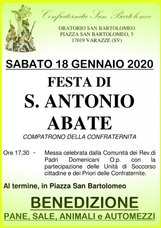 Festa di Sant'Antonio Abate... nell'Oratorio di San Bartolomeo