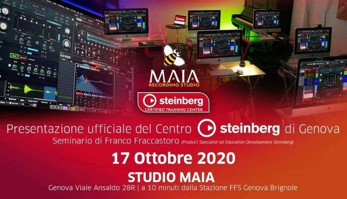 Il 17 Ottobre vieni a visitare il nuovissimo. Steinberg Certified Training Center di Genova!